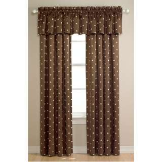 Black Out Curtain Panel, Chocolate/White, Big Dots Bedding & Decor