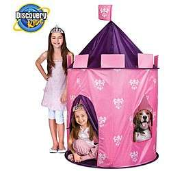 the discovery kids indoor outdoor princess play castle will make any