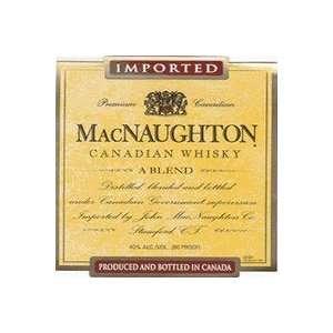 Macnaughton Canadian 80@ 1.75L Grocery & Gourmet Food