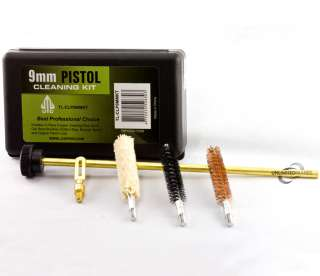 38 .357 9MM HAND GUN PISTOL CLEANING KIT FIREARM CLEANER RANGE