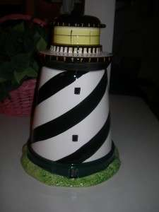 Collectible Lighthouse Cookie Jar Warren Kimbles Coastal Breeze by