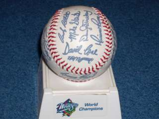 Yankees World Champions Autographed Signed Baseball Collector