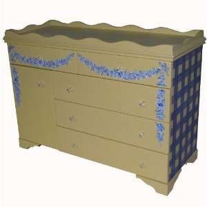French Provincial Dresser/Changing Table: Baby