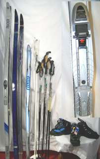 cross country New NNN WhitewoodspackageCHOICE OF skis bindings boots