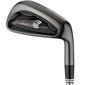 Hand Cleveland Mens CG7 Black Pearl Tour Irons