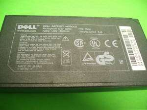 Dell Latitude CP PPL OEM Battery 75uyf Untested