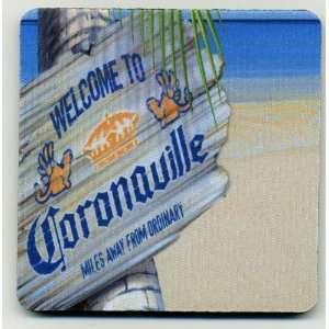 Coronaville beer coaster set   Corona Extra Cerveza