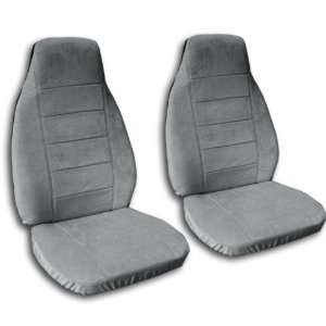 2 Steel Grey seat covers for a 1994 to 1997 Honda Accord