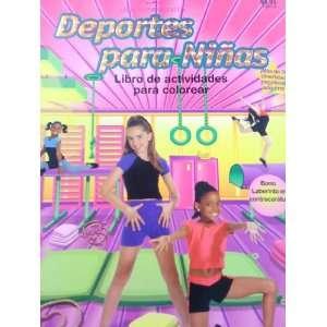 Deportes para Ninas Libro De Actividades Para Colorear