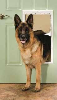 PPA00 10961 Petsafe Plastic Pet Dog Door Extra Large