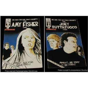 Amy Fisher Joey Buafuoco Comic 1993 He Said/She Said Comics