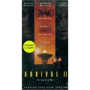 Arrival 2 [VHS]: Patrick Muldoon, Jane Sibbett, Michael