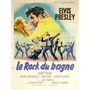 French 27x40 Elvis Presley Judy Tyler Vaughn Taylor: Home & Kitchen