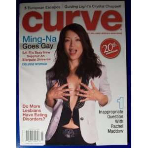 Curve Magazine: Ming Na ((March 2010)): VARIOUS AUTHORS: