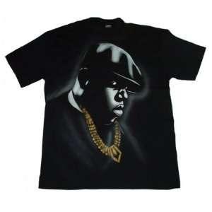 Notorious BIG Biggy Smalls Airbrushed T Shirt, L