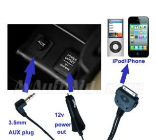 Mazda to iPod iPhone interface Audio Charge Cable Adapter for Mazda5