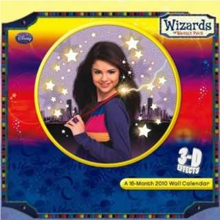 Disney Wizards Of Waverly Place Selena Gomez Calendar 2010 3D Magic