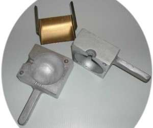or Downrigger Fishing Weight Mold 5 lb. Made of solid aluminum |