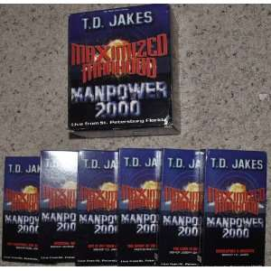 Maximized Manhood Manpower 2000 Bishop T.D. Jakes Movies & TV