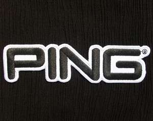 PING GOLF CLUB LOGO CREST BADGE PGA BAG EMBROIDERED IRON ON PATCH 5