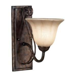 Kenroy Home Wallis Wall Sconce in Burnished Bronze
