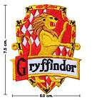 harry potter house gryffindor crest emblem embroidery stick iron on