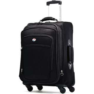 American Tourister 21 Meridian Black Spinner Luggage
