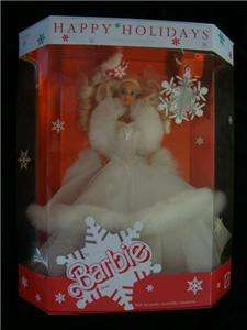 Barbie Doll 1989 Happy Holidays Special Edition