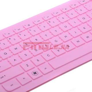 New Pink Silicone Keyboard Cover Protector Skin for HP Pavilion G4 DV4