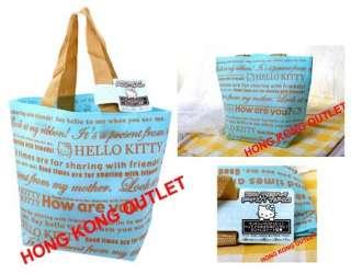 Sanrio Hello Kitty Bento Lunch Box Bag H1a