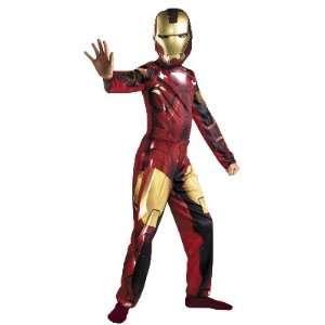 Boys Iron Man 2 Costume Mark 6 10 12 Husky Toys & Games