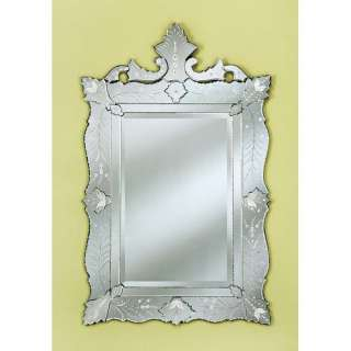 Venetian Gems Ruby Wall Mirror Decor