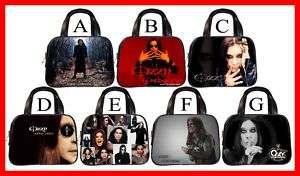 Ozzy Osbourne Black Sabbath Rare Handbag Purse #PICK 1