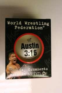 16 World Wrestling Federation Holiday Ornament Ball Xmas Tree Decor