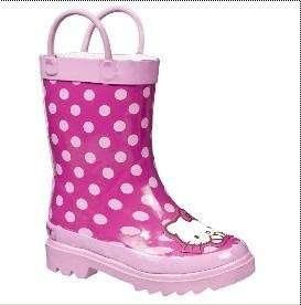 Hello Kitty Rain Boots by Sanrio EUC MSRP $ 22.99