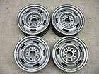 28 1967 1968 DF Rally Wheels 15x 6 Z28 Ralley Rims All Dated 68