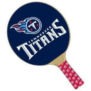Tennessee Titans NFL Table Tennis/Ping Pong Paddles