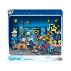 Playmobil Police Christmas Advent Calendar: Toys & Games