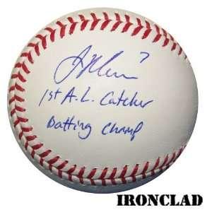 Joe Mauer Autographed Rawlings Official Major League Baseball