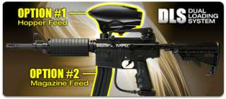 Kingman Spyder 2012 MRX Semi Auto Paintball Gun Marker   Diamond Black