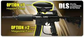Kingman Spyder 2012 MRX Semi Auto Paintball Gun Marker   Diamond Black