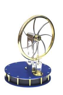 SOLAR TWIN CYLINDER Stirling engine self build KIT