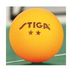 Stiga 2 Star Table Tennis Balls