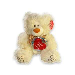 Sealed with a Kiss Valentines Day Teddy Bear Plush Stuffed Animal